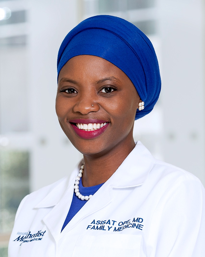 Asisat Ope, M D  joins Houston Methodist Primary Care Group